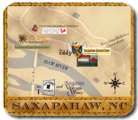 Saxapahaw Business Map